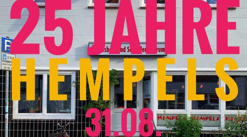 25 Jahre HEMPELS: Zentrumsfest | 31.08.