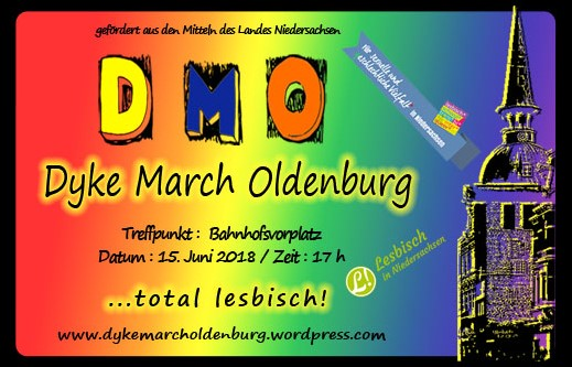 Dyke March Oldenburg am 15. Juni