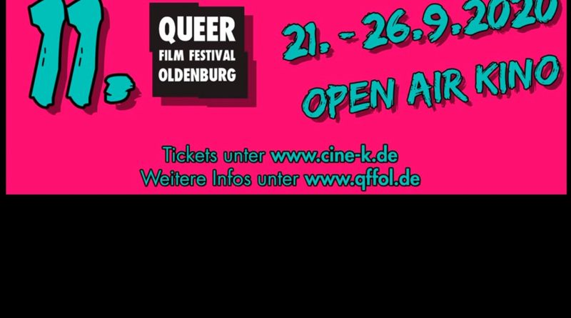 11. Queer Film Festival Oldenburg – goes Open Air!
