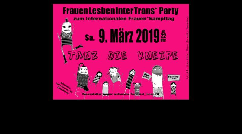 Veranstaltungen zum 8. März 2019